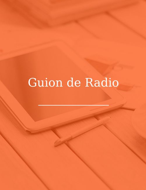 Guion de radio Isaac, Javi y Yankee, español