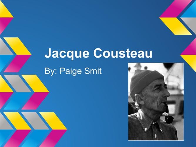 P1 PSmit Cousteau