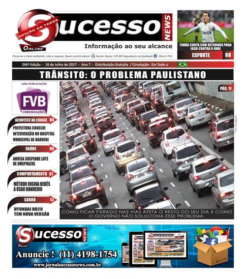 Jornal Sucesso News - Edição - 296 ONLINE