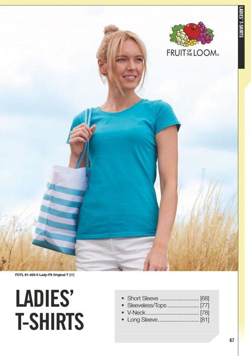 Dame T-shirts 2016 Profiltryk