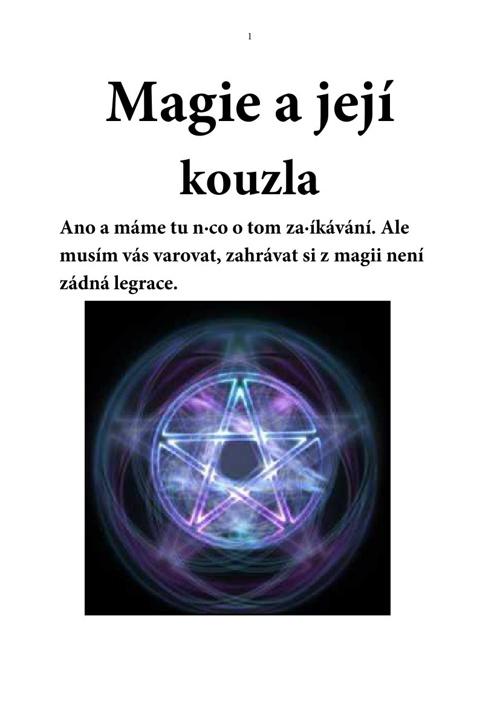 Kniha magie a kouzel