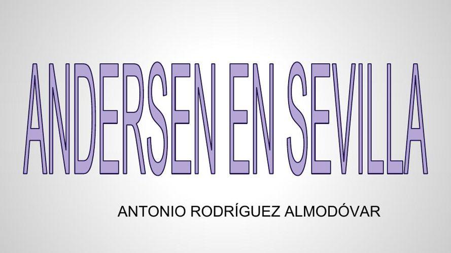 Andersen en Sevilla (1)