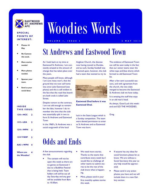 Woodies Words Week 3