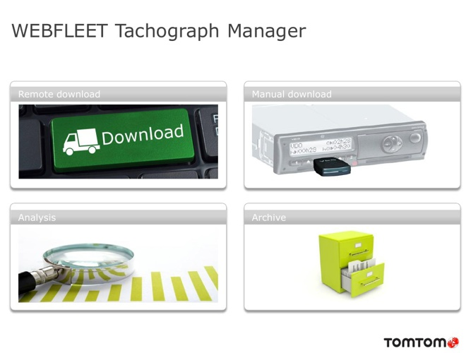 TomTom WEBFLEET Tachograph Manager