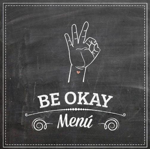Menú Be Okay