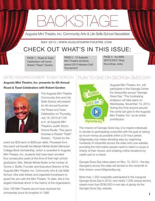"""Backstage"" 