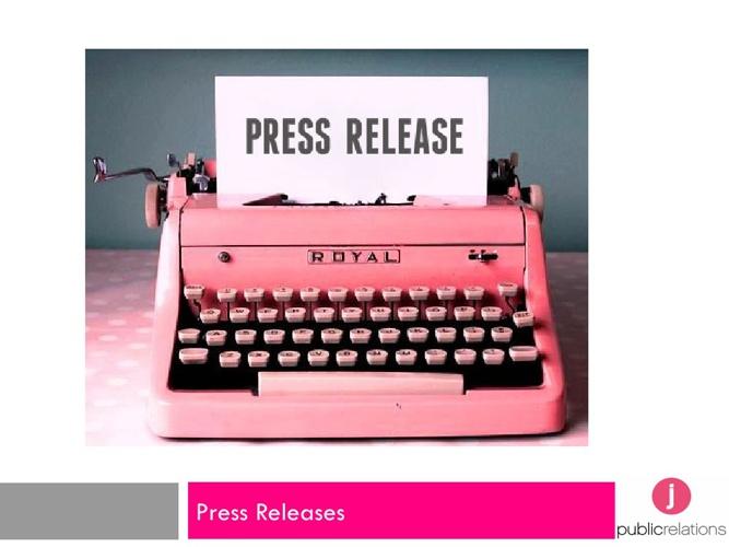 Press Release Workshop