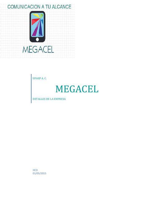 catalogo MEGACEL