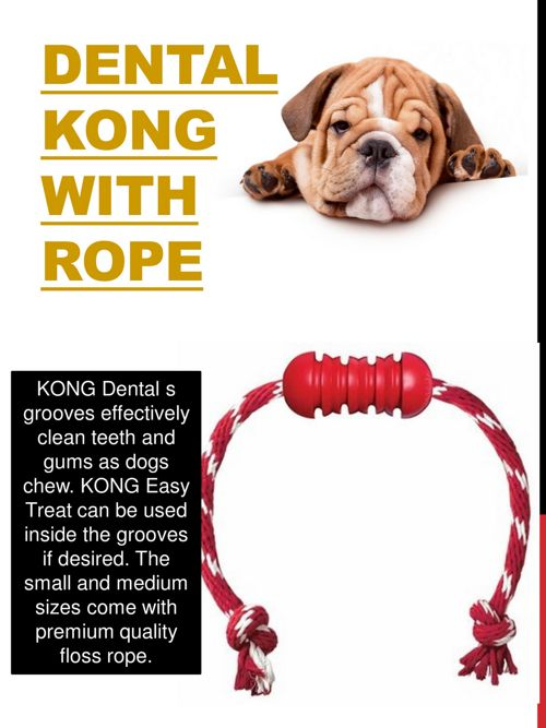 Dental Kong With Rope