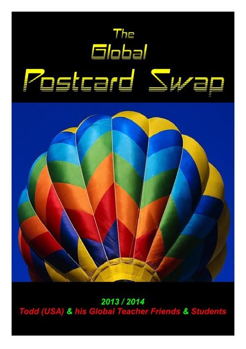 Todd's Global Postcard Swap 2013 - 2014