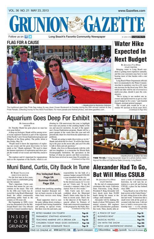 Grunion Gazette | May 23, 2013