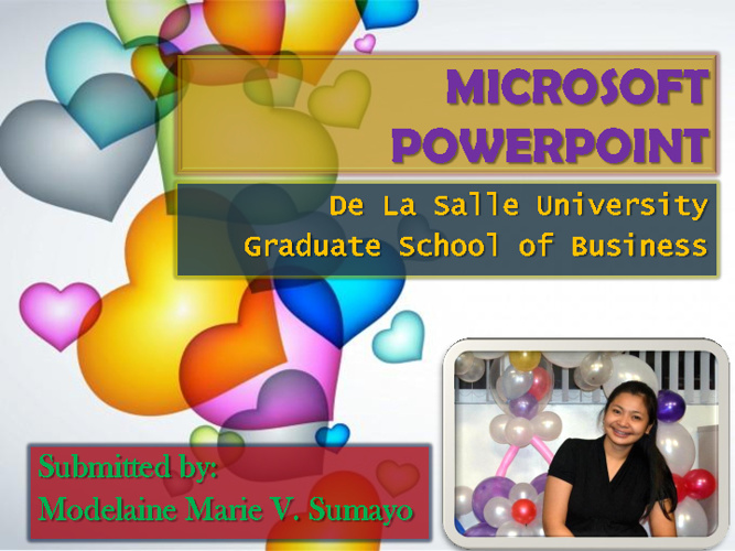 MS PowerPoint - Modee Sumayo