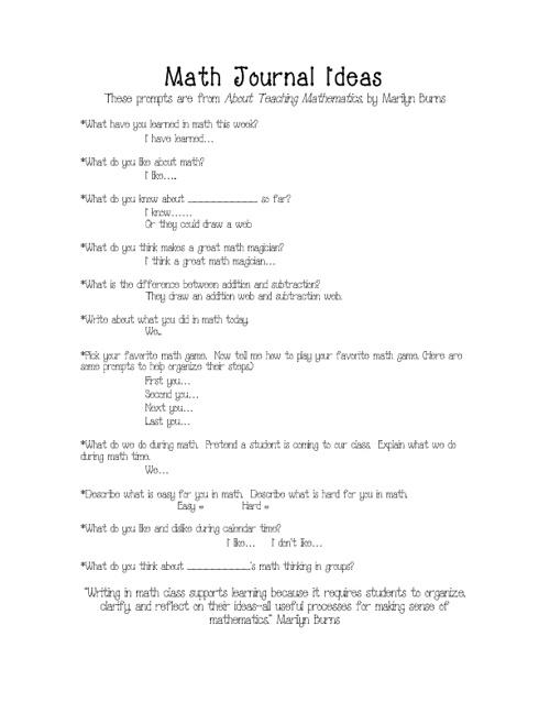 Math Lessons 3