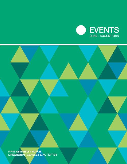 Summer Events Brochure Summer 2016