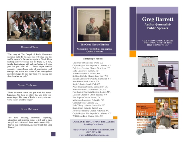Rutba Trifold Brochure