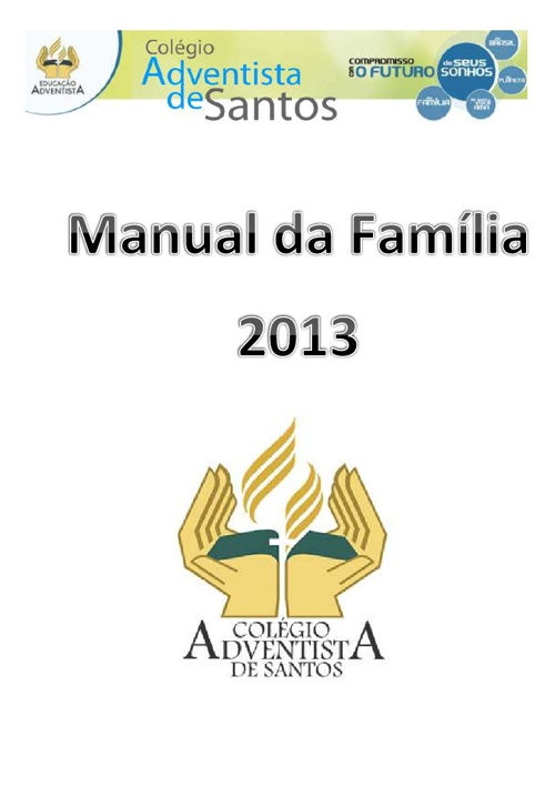 Manual da Família - 2013