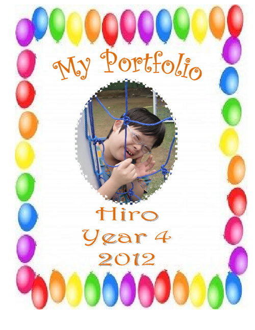 My Portfolio. Hiro. Year 4