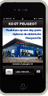 Koot Peugeot iPhone folder