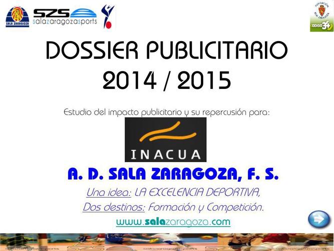 DOSSIER PUBLICITARIO 2014_15 INACUA