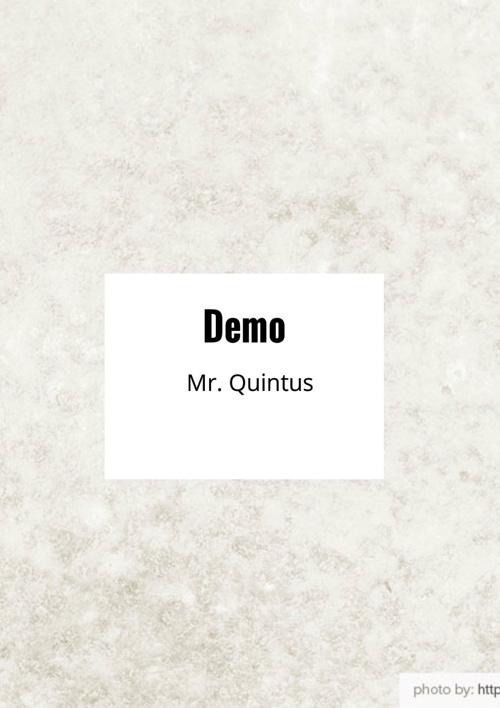 Mr. Quintus Book