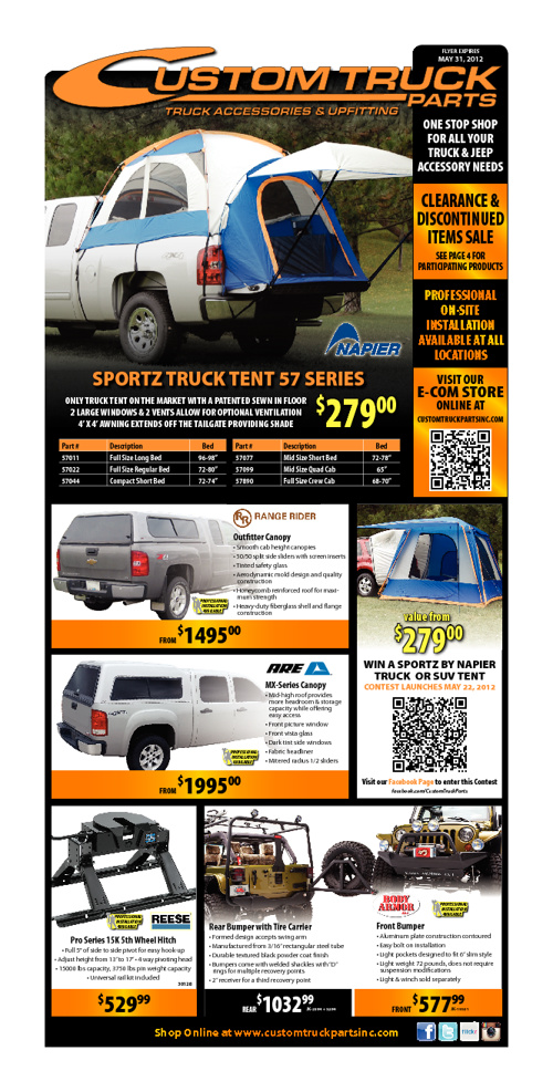 CTP May Mini Retail Flyer