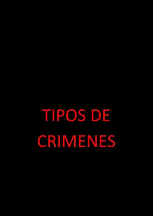 TIPOS DE CRIMENES
