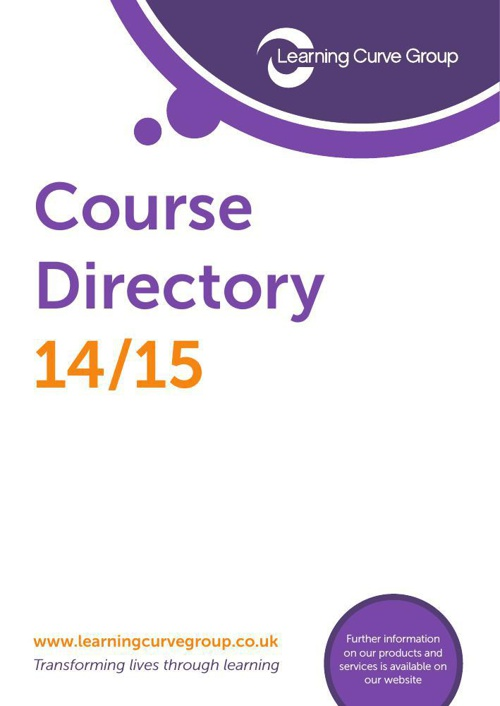 Learning Curve Group – Employer Course Directory 14/15