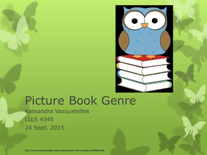Picture Book Genre