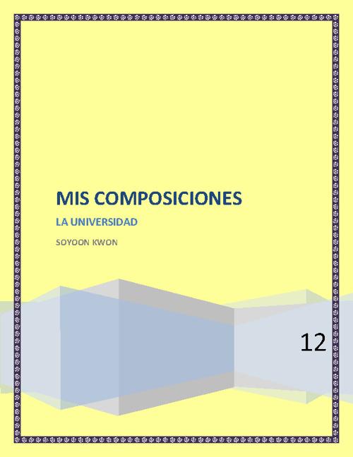 Mis Composiciones