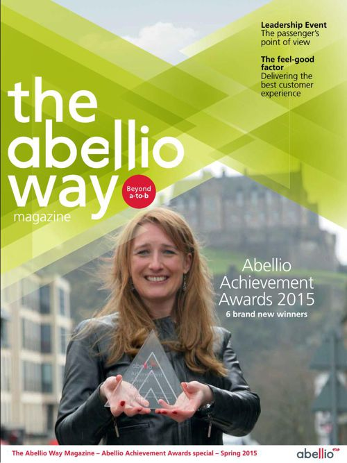 Abellio Way magazine - Abellio Achievement Awards 2015