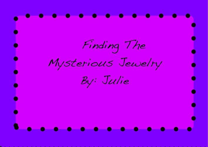 4SR Julie Mystery