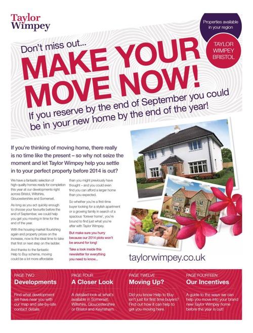 Taylor Wimpey Bristol — Regional Newsletter 2014