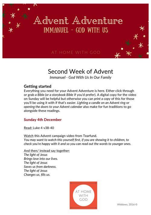 AHWG_Advent Adventure Week 2