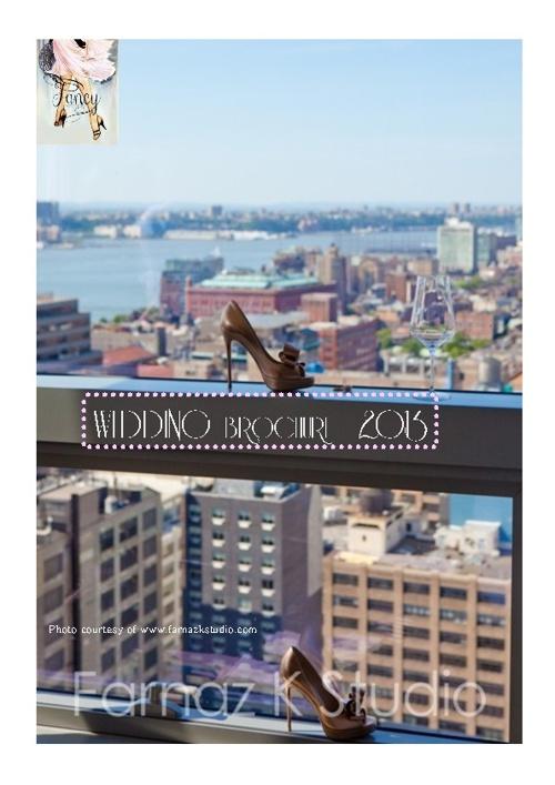 Fancy New York Weddings Brochure