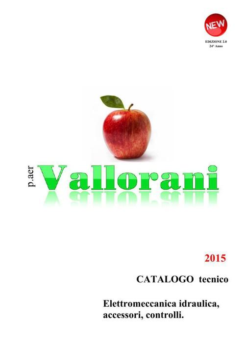 2015 CATALOGO tecnico p.aer VALLORANI