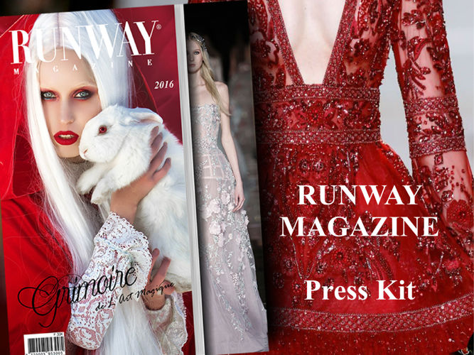 RUNWAY MAGAZINE Press Kit