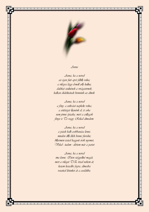 Tiszai P. Imre versei