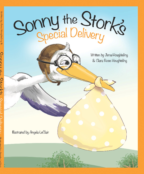 Sonny The Stork - Special Delivery