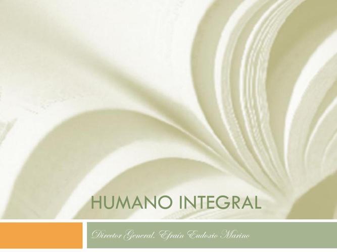 Humano Integral