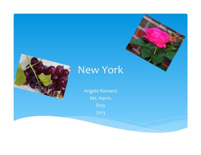 New York by Angela