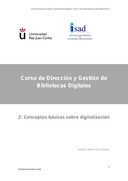 Tema 2 - Conceptos Basicos Sobre Digitalizacion