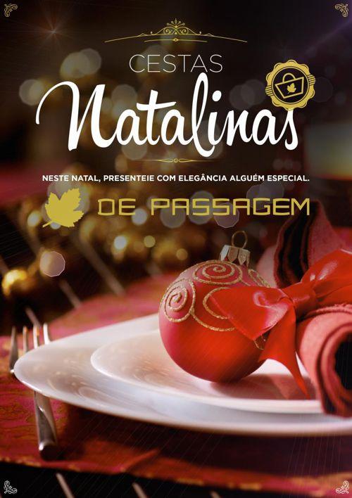 CESTAS NATALINAS DE PASSAGEM