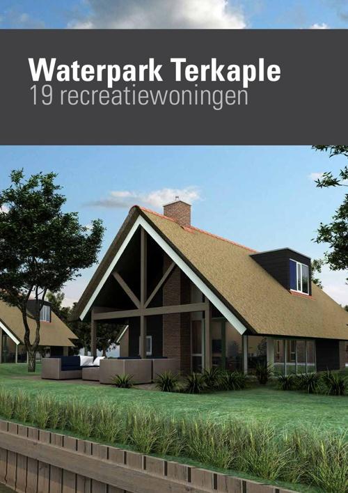Verkoopbrochure 19 recreatiewoningen Terkaple