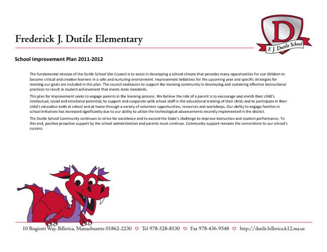 Dutile SIP 2011-2012