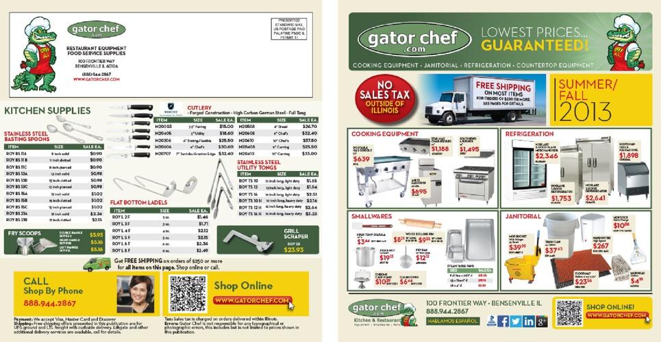 Gator Chef Sample