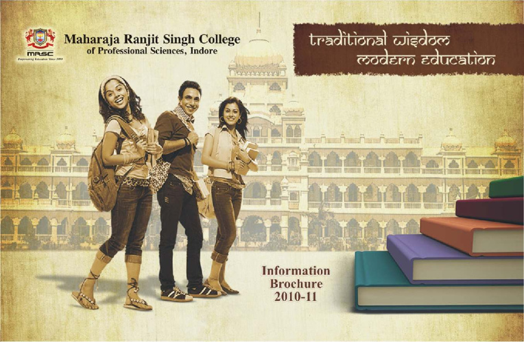 Maharaja Ranjit Singh College by Srijan Advertising