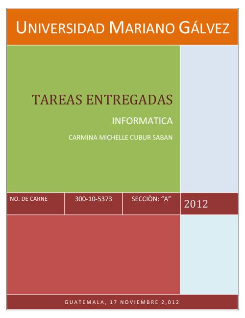 Libro, tareas informatica