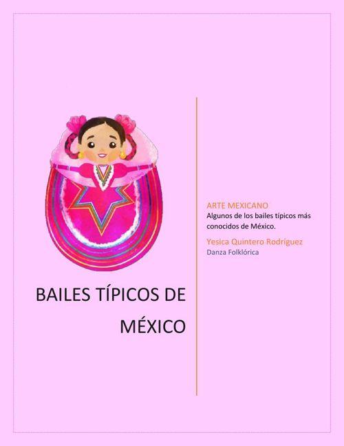 Bailes típicos de México