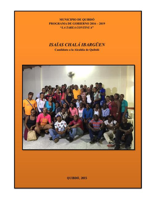 Programa de Gobierno Isaías Chala