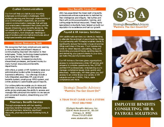 SBA Brochure